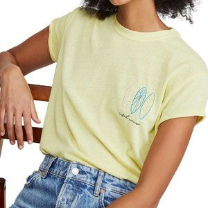 Free People NWT Wipe Out Graphic Tee